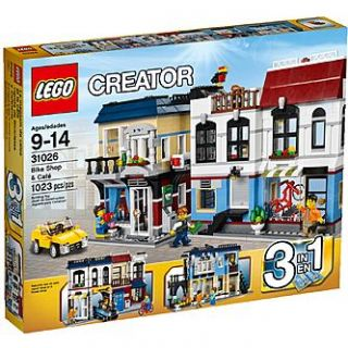 LEGO Creator Bike Shop & Cafe   Toys & Games   Blocks & Building Sets
