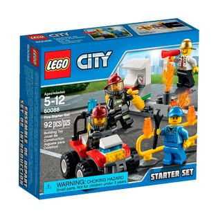LEGO City Fire Starter Set   Toys & Games   Blocks & Building Sets