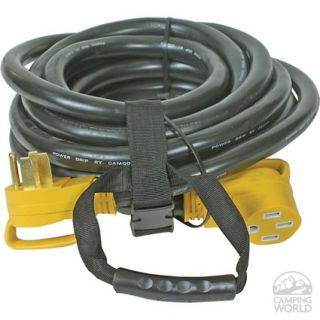 Power Grip Heavy Duty 50A Extension Cord   30 ft.   Camco 55195   Electrical Cords