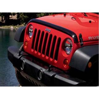 Jeep   Front Air Deflector   Fits 2007 to 2016 JK Wrangler, Rubicon and Unlimited