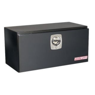 WEATHER GUARD Steel Body, Aluminum Cover Underbody Truck Box, Black, Single, 5.6 cu. ft.   Truck Boxes   13R616|530 5 02