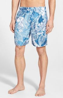 Quiksilver Waterman Collection Tropic Print Swim Trunks