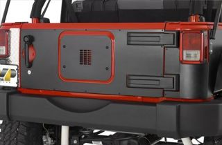 Warrior   Tailgate Cover    Fits 2007 to 2016 Wrangler, Rubicon and Unlimited