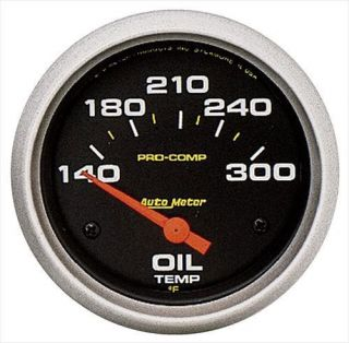 Auto Meter   Pro Comp Electric Oil Temperature Gauge