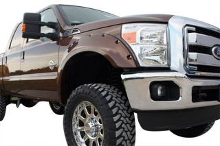 2014, 2015, 2016 Toyota Tundra Pocket Style Fender Flares   Bushwacker 30918 13   Bushwacker Color Match Pocket Style Fender Flares
