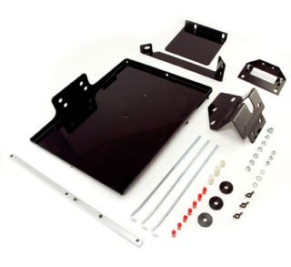 1987 1990 Jeep Wrangler Battery Mounts & Accessories   Rugged Ridge 11214.50   Rugged Ridge Dual Battery Tray