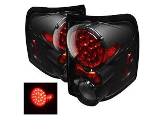 Spyder Auto Ford Explorer 4Dr (Except Sport Trac) 02 05 / Mercury Mountaineer 02 05 LED Tail Lights   Black