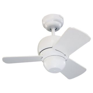 Monte Carlo 3TF24WH White Ceiling Fan