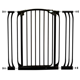 Dreambaby Chelsea Tall Auto Close 42.5 in x 39.5 in Black Metal Child Safety Gate