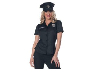 Police Officer Shirt   Adult Costume   X Large