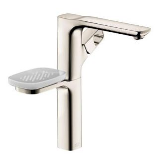 Hansgrohe Axor Urquiola Single Hole 1 Handle Bathroom Faucet in Polished Nickel 11023831