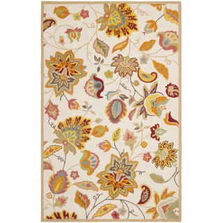 Safavieh Four Seasons Ivory & Yellow Area Rug