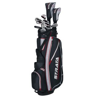 Callaway Mens Right Handed Strata Complete Set Golf Clubs With Bag