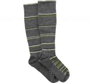 Mens Sockwell Concentric Stripe Graduated Compression Sock   Charcoal