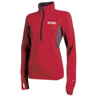 Under Armour South Carolina Gamecocks Womens Lightweight Half Zip Performance Top