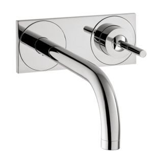Hansgrohe Axor Uno Wall mounted Single Handle faucet with Baseplate