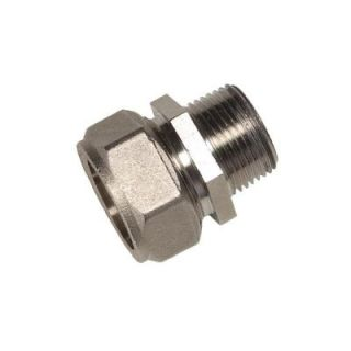 RapidAir MaxLine 3/4 in. x 1/2 in. Brass Compression Male Adapter M8005