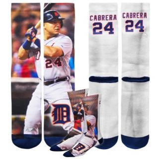For Bare Feet MLB Sublimated Player Socks   Mens   Baseball   Accessories   Miguel Cabrera   Multi