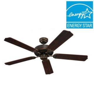 Sea Gull Lighting Quality Max 51 in. Russet Bronze Ceiling Fan 15030 829