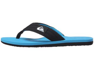 Quiksilver Kids Molokai Layback (Toddler/Little Kid/Big Kid) Black/Blue/Blue