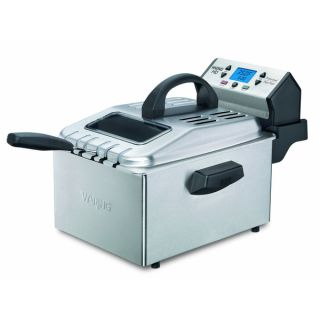Waring Pro DF280 Professional Deep Fryer   Brushed Stainless