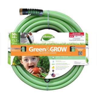 Element 5/8 in x 50 ft Medium Duty Garden Hose