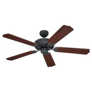 Sea Gull Lighting Ceiling Fan in Weathered Iron Finish