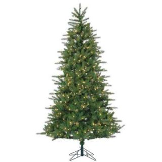 Sterling 7.5 ft. Pre Lit Natural Cut Franklin Spruce Artificial Christmas Tree with Clear Lights 6256  75C