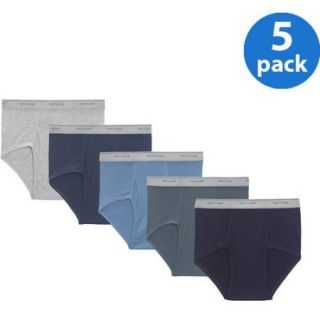 Fruit of the Loom Big Men's Assorted Color Briefs, 5 Pack