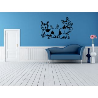 Japanese Bobtail Cat Breed Anime Wall Art Sticker Decal   18376370