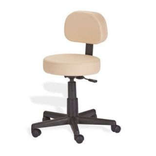 EarthLite Mid Back Height Adjustable Rolling Drafting Chair