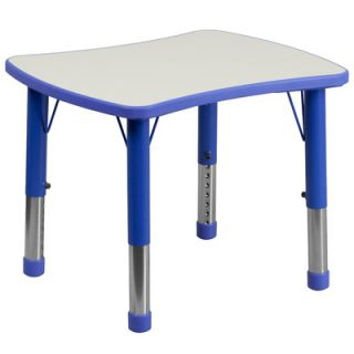 Flash Furniture 26.63 x 21.88 Rectangular Classroom Table