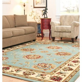 Safavieh Lyndhurst Traditions Blue/ Ivory Rug (9 x 12)