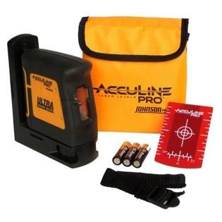 Acculine Pro Self Leveling Hi Powered Cross Line Laser Level   Tools