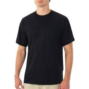 Fruit of the Loom Men's Short Sleeve Pocket T Shirt