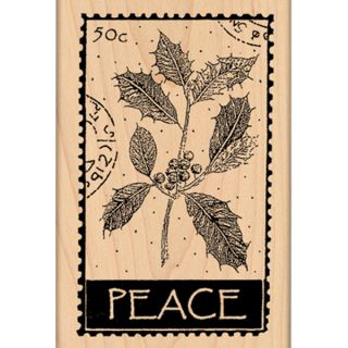 Penny Black Mounted Rubber Stamp 2.5X4 Peace   15019760