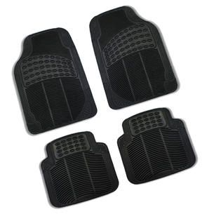 FH Group 5pc Full Set All Weather Heavy Duty Floor Mat Trunk Cargo