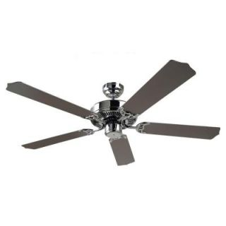 Sea Gull Lighting Quality Max 52 in. Chrome Indoor Ceiling Fan 15030 05