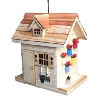 Home Bazaar Potting Shed Hanging Bird Feeder