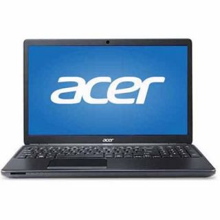 "Acer Black 15.6"" TravelMate P4 Laptop PC with Intel Core i7 4500U Dual Core Processor, 8GB Memory, 128GB SSD and Windows 7 Professional"