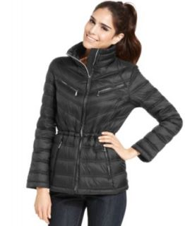 MICHAEL Michael Kors Hooded Quilted Down Packable Puffer Coat