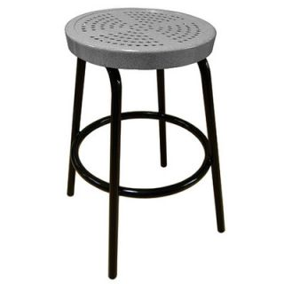 Perforated 16 Barstool by Leisure Craft