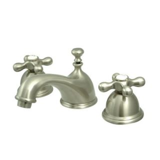 Kingston Brass KS3968AX Satin Nickel Ks396 ax Bathroom Faucet   Build