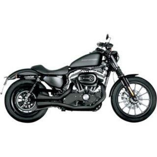 Akrapovic Open Line 2 Into 2 Exhaust System Black Fits 04 13 Harley Davidson XL 1200X Sportster Forty Eight