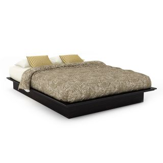 Sonax Plateau Ravenwood Black Full Low Profile Bed