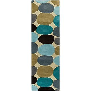 Surya Cosmopolitan COS9204 268 Hand Tufted Rug, 26 x 8 Rectangle