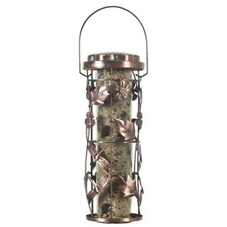 Perky Pet Copper Garden Seed Bird Feeder