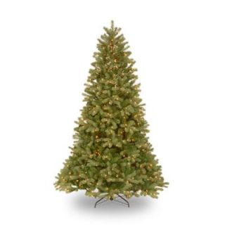 7.5 ft. Feel Real Downswept Douglas Fir Artificial Christmas Tree with 750 Clear Lights PEDD4 312 75