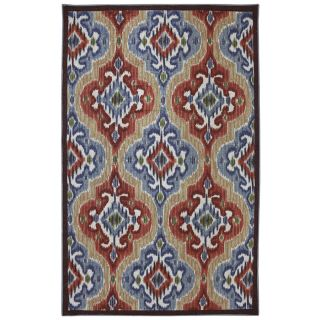 Mohawk Home Mystic Ikat Multicolor Rectangular Outdoor Tufted Area Rug (Common 8 x 10; Actual 96 in W x 120 in L x 0.5 ft Dia)