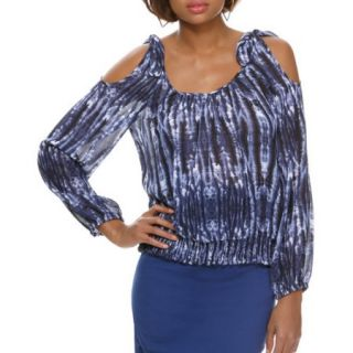 Miss Tina Women's Tie Shoulder Top